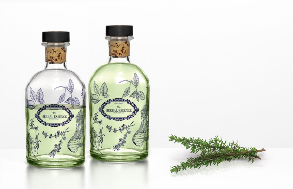 Herbal Essence bottles design