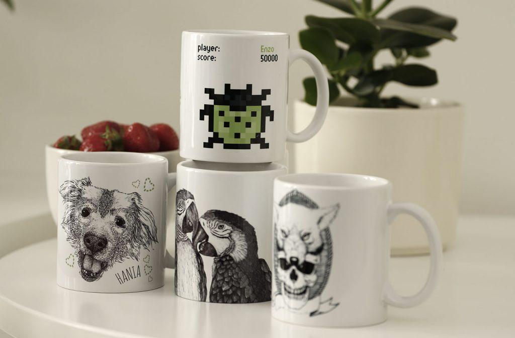 Kiwee company mugs