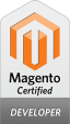 Magento Developer certification badge
