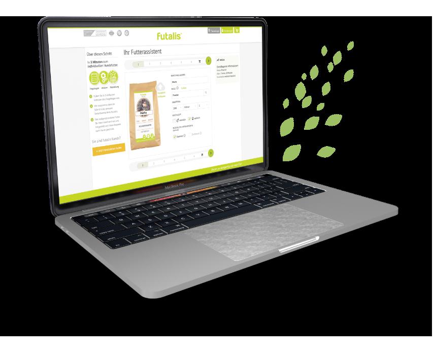 futalis desktop view for custom solutions