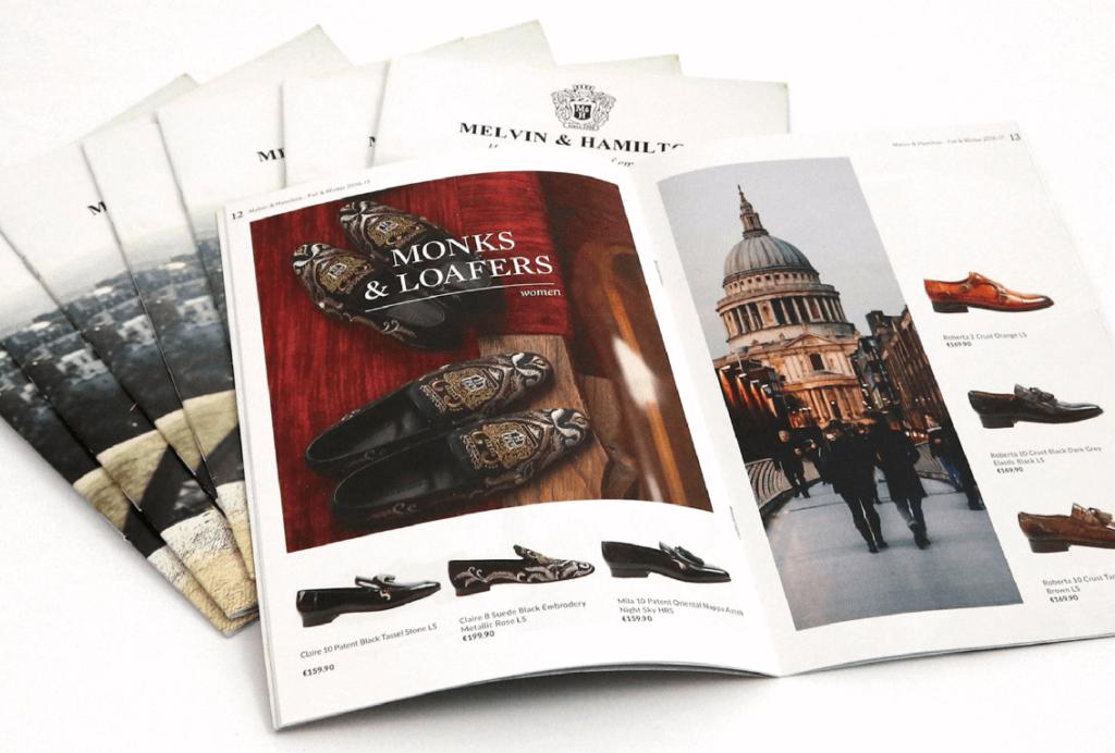 cross border eCommerce leaflets Melvin & Hamilton
